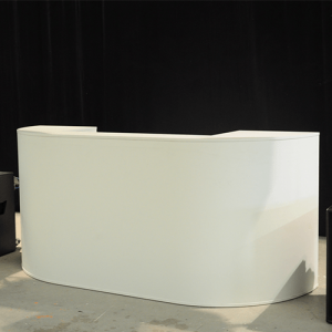 Witte DJ Booth
