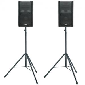 QSC K12 geluidsinstallatie