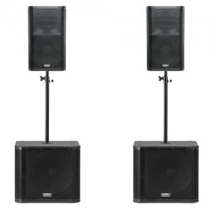 QSC KW181 K12 geluidsinstallatie