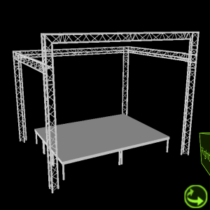 Truss Overkapping 5x4